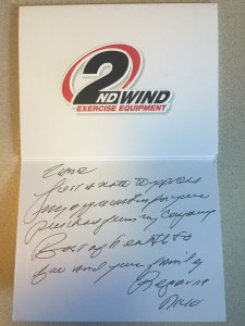 2ndWind Thank You